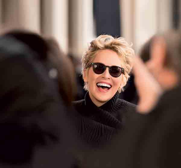 Sharon Stone dans la nouvelle campagne d'Afflelou. ©Afflelou
