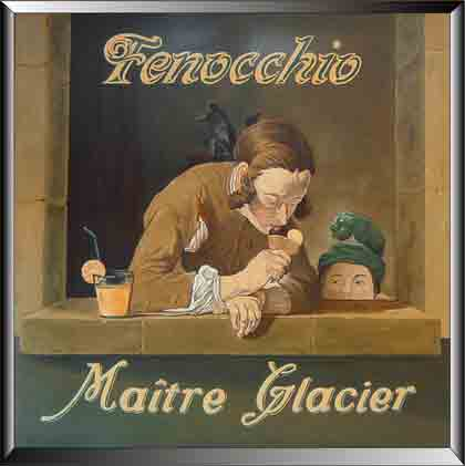 Les glaces de chez Fenocchio
