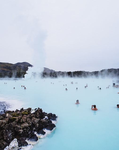 blue lagoon Islande les boomeuses