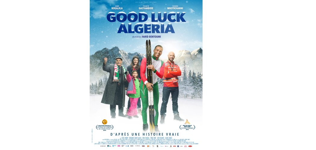 Good luck Algeria-Places a gagner-Les Boomeuses