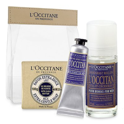 TROUSSE_WEEK_END HOMME_OCCITANE_LES BOOMEUSES