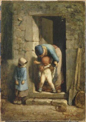 lart et lenfant-musee marmottan-Les boomeuses