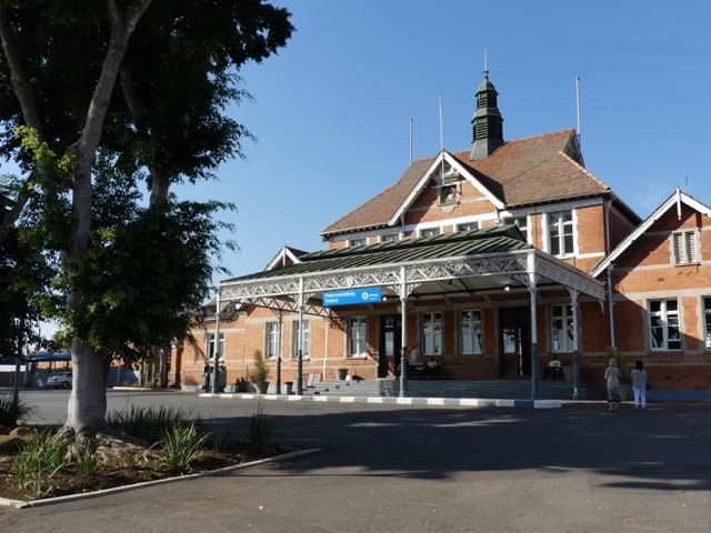 La gare de Pietermaritzburg.