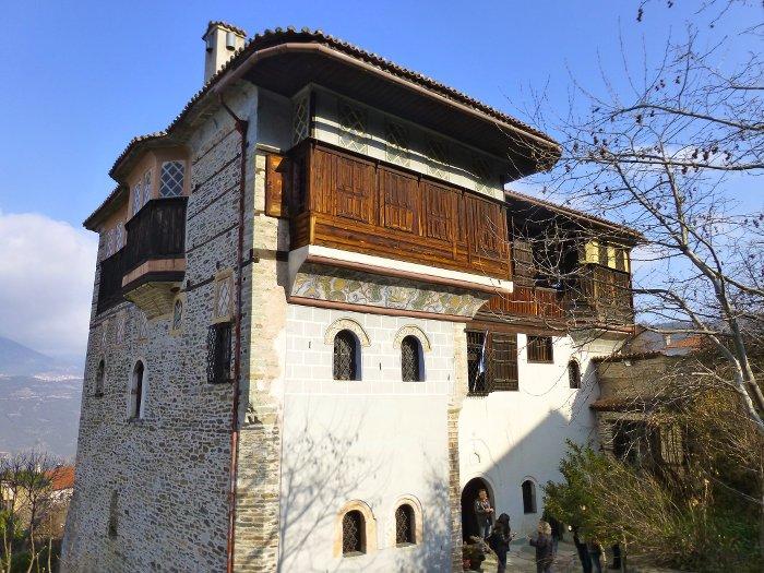 La maison du fondateur de la coopérative d'Ambelakia, joyau architectural © YH
