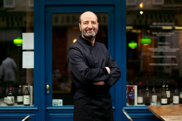 cuisine italienne, Charles Teboul, le chef du Viola