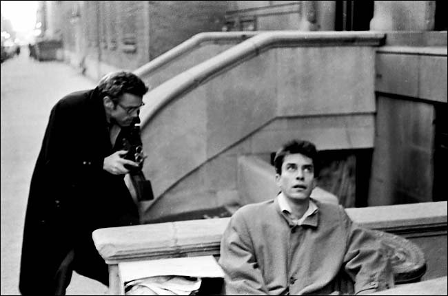 Martin Landau et James Dean