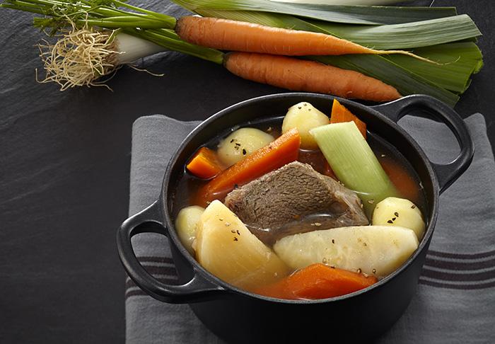 Pot au feu, l'un des plats préparés à se faire livrer .