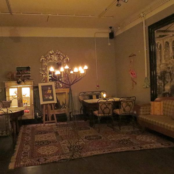 Le restaurant Strefa, ambiance maison ancienne très chaleureuse.