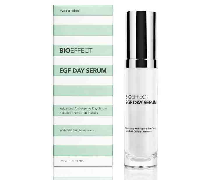 A tester : EGF DAY SERUM, BIOEFFECT