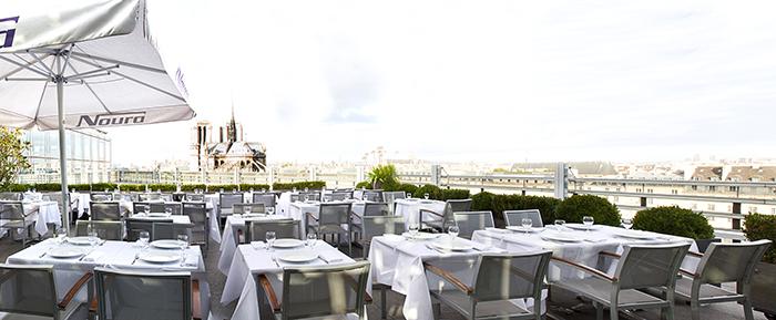 On ne se lasse pas de cette vue sur la Seine et Notre-Dame