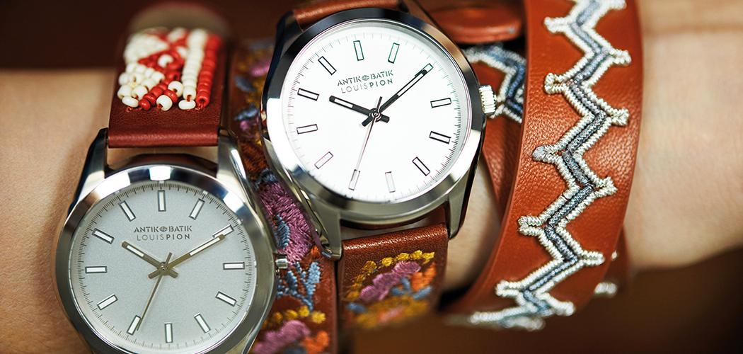 56b2ca0886 Antik Batik x Louis Pion, une montre coup de coeur
