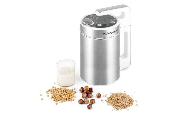 photo d'un appareil pour faire son lait bio paru dans le magazine les boomesues.com