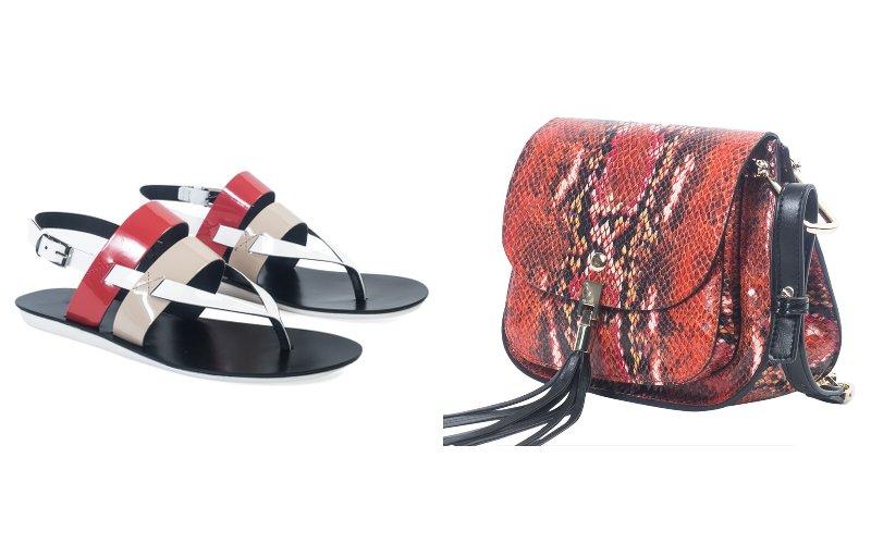 Andre-Sac duo et sandales