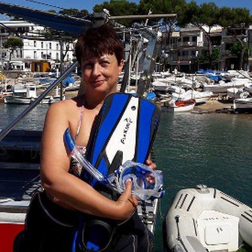 Mon bapteme de plongée Femme 50 ans-Les Boomeuses
