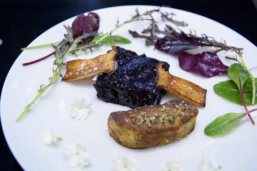Foie gras aux myrtilles du chili-le cordon bleu-Les Boomeuses-Femme-50 ans