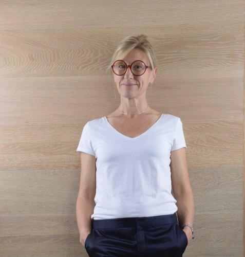 Marie-Claire Bizot-Portrait de Boomeuse-sacs