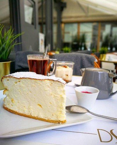 Le fameux cheese cake, tout léger