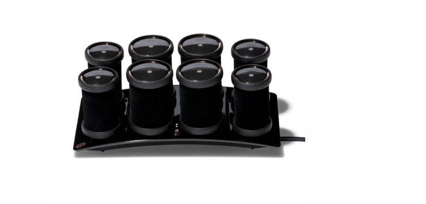 Photo d'un appareil de rouleaux chauffants nours pour les cheveux de la marque américaine T3