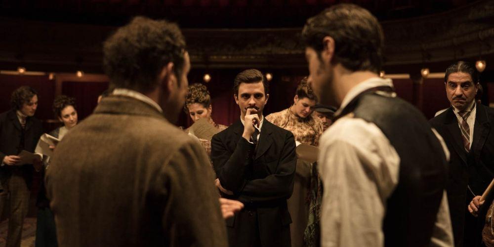 edmond film-adaptation de la pièce au cinéma par Alexis Michalik- Photo représentant une scène du film Edmond