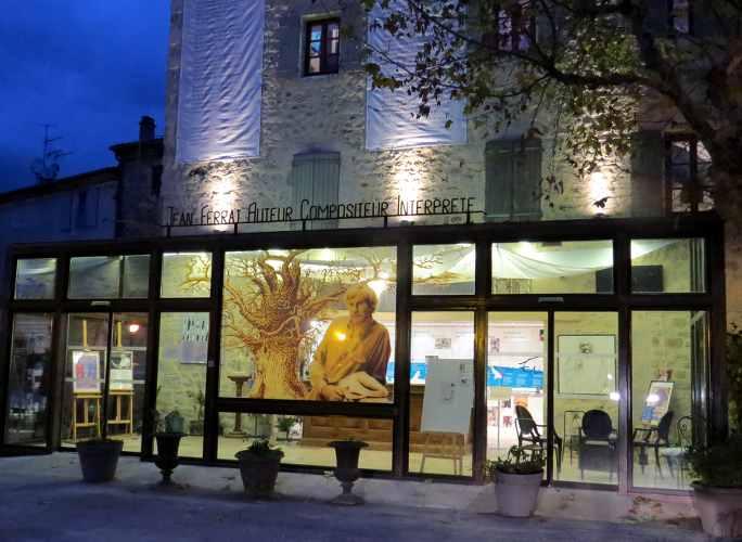 La maison du chanteur Jean, Ferrat en Ardèche