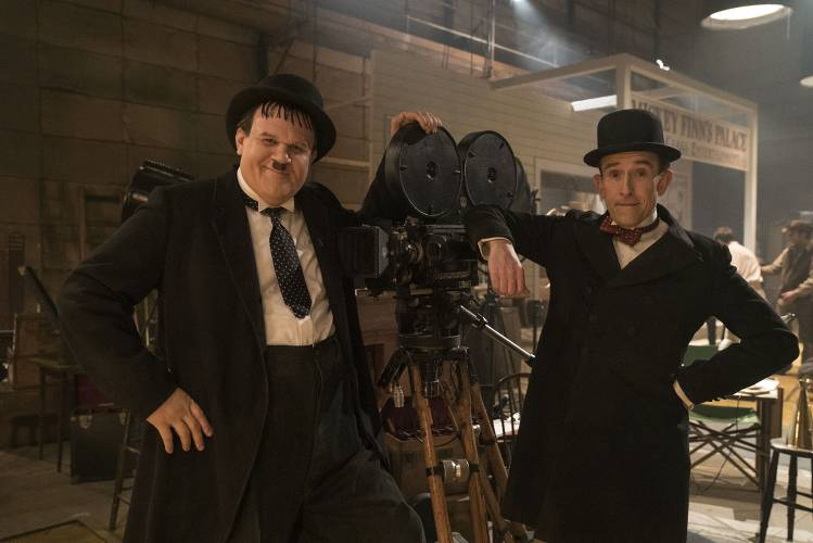 Photo représentant le duo comique Laurel et Hardy