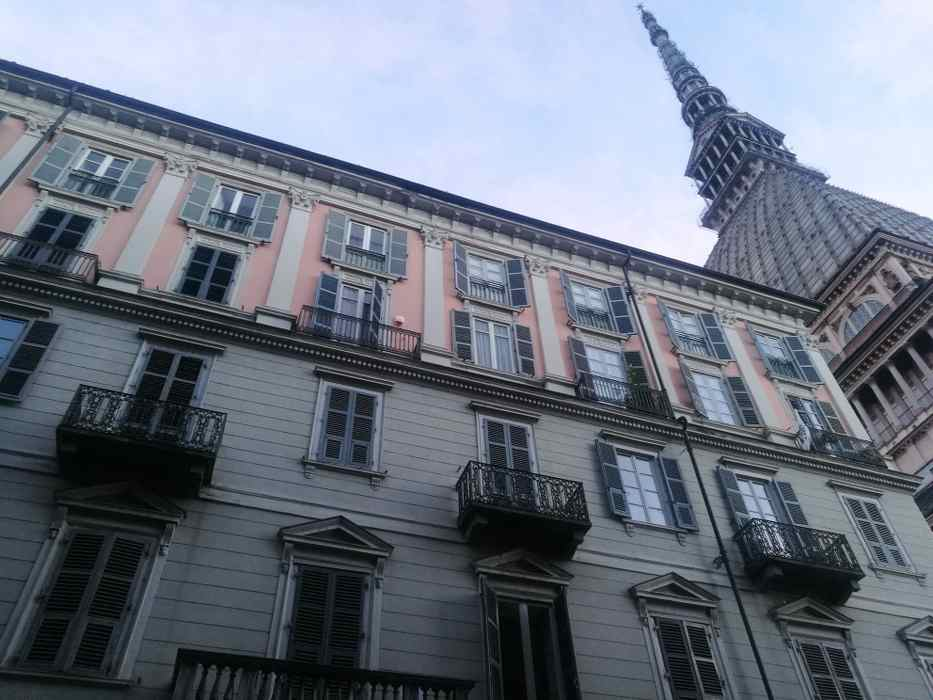 façade d'immeuble à Turin