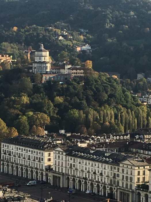 vue panoramique de Turin