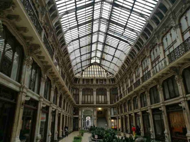 GAlerie couvert à Turin,
