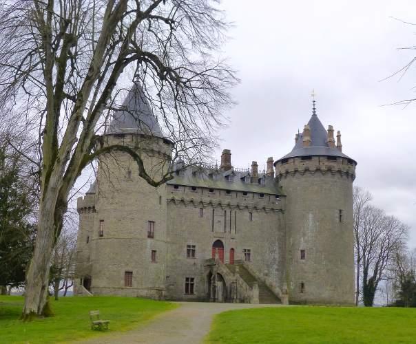 Château de Chateaubriand à Combourg