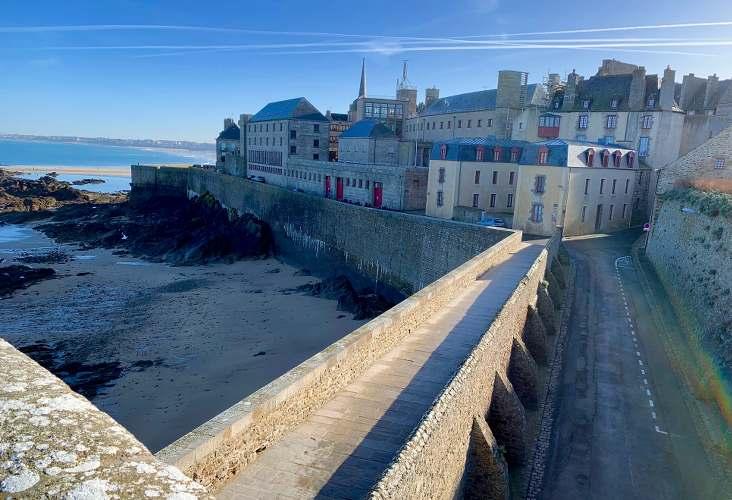 La vieille ville de Saint-Malo