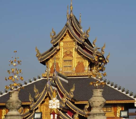 temple boudhiste en thailande du nord