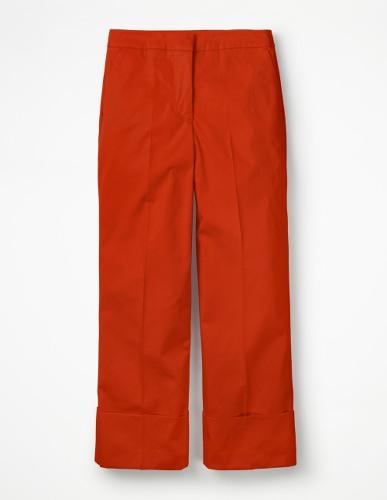 pantalon de printemps corail