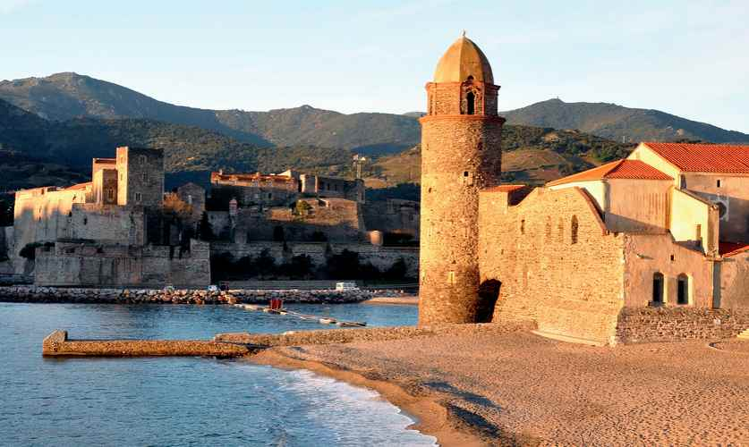 le village de colioure près d'Argelès-sur-mer