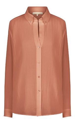 chemise femme couleur terracotaa
