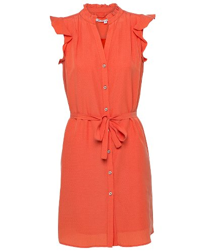 robe de printemps couleur corail