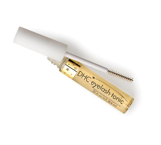 flacon doré pour booster la repousse des cils