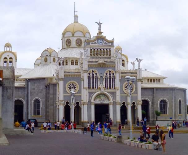 cathédrale au costa rica