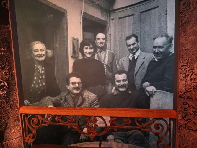 Photo de famille à sete avec brassens