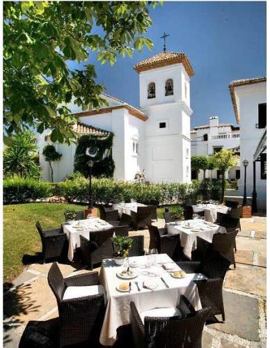 le restaurant de la bobadilla en Andalousie