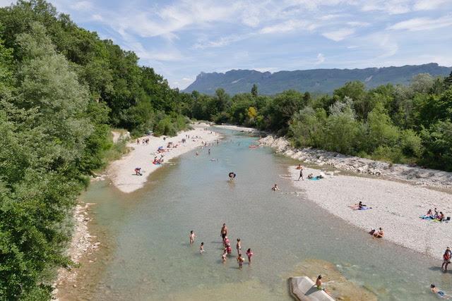 rivière de la drôme