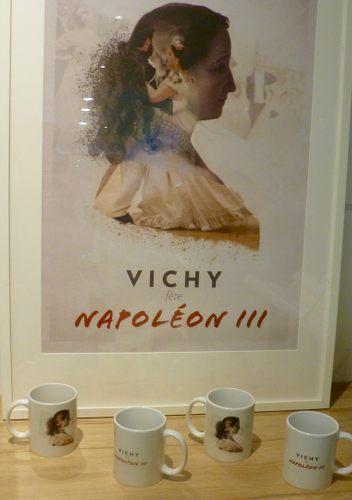affiche sur Vichy et napoleon 3