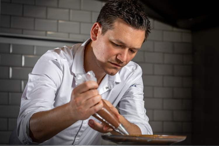 Le cuisinier Jérôme Devreese du restaurant Le faham