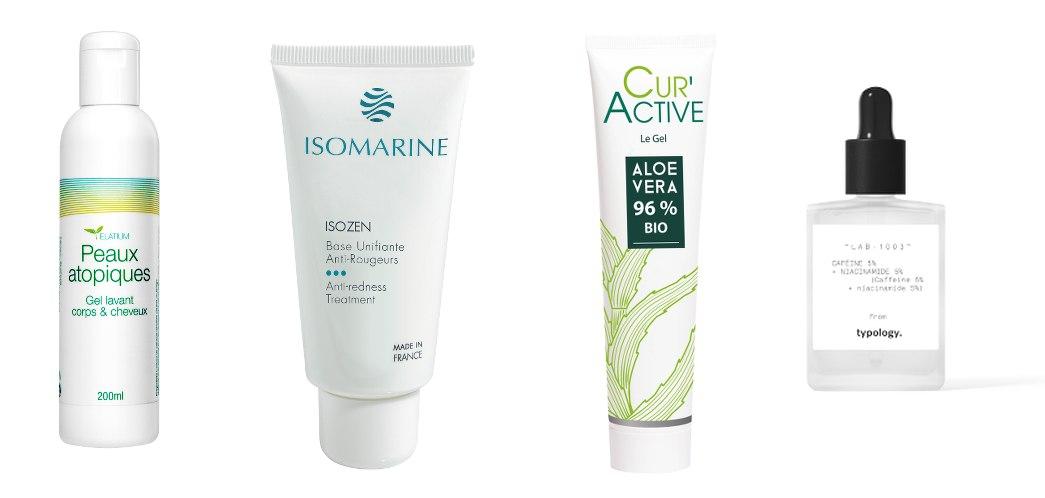 Produits pour peau sensible