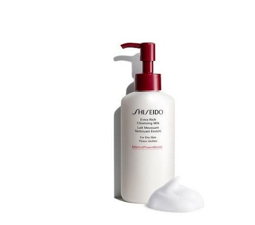 flacon de lait démaquillant shiseido