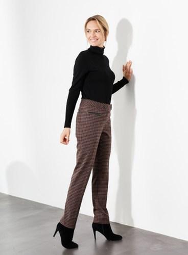 pantalon en carreaux
