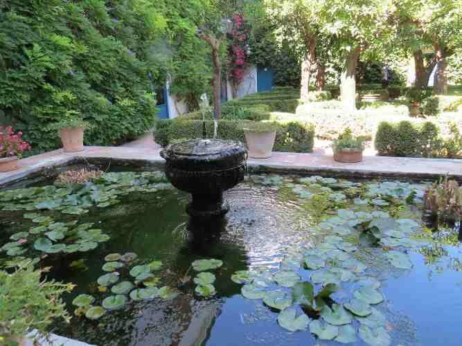 jardin à Cordoue