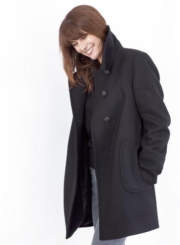 manteau noir de chez UJA