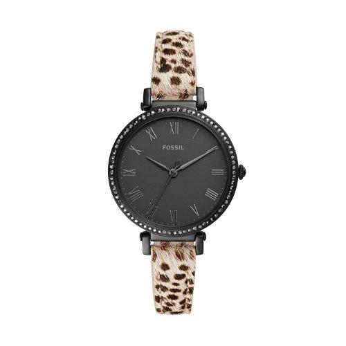 montre avec bracelet leopard