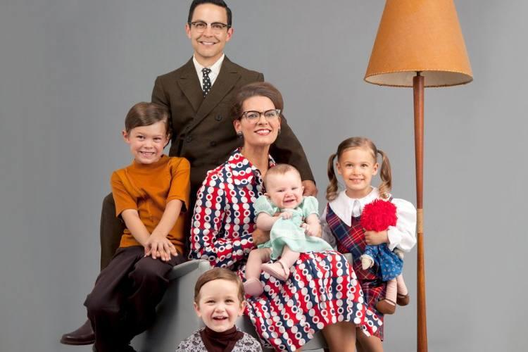 Se faire tirer le portrait en famille