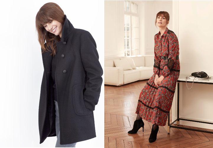 manteau et robe de chez Un jour ailleurs